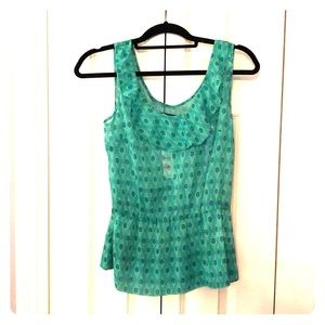 GAP, patterned, pink top, size S